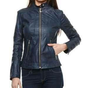JACK BB Dakota Jeanette Faux Leather Jacket